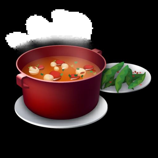 Recipe Soup Tomato Icon Recipes Iconset Lemon Liu