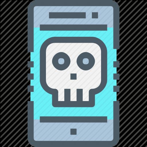 Phone Icons Skull
