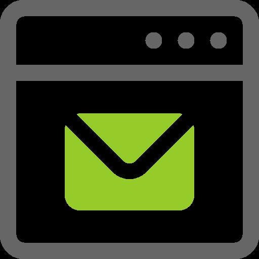 Window, Mail, Application, Desktop Icon Free Of Mini Icons