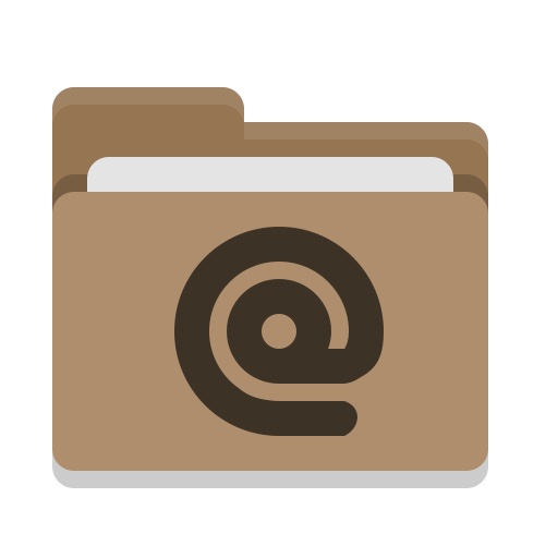 Folder, Brown, Mail Icon Free Of Papirus Places