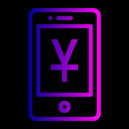 Mobile Outline Black Icon