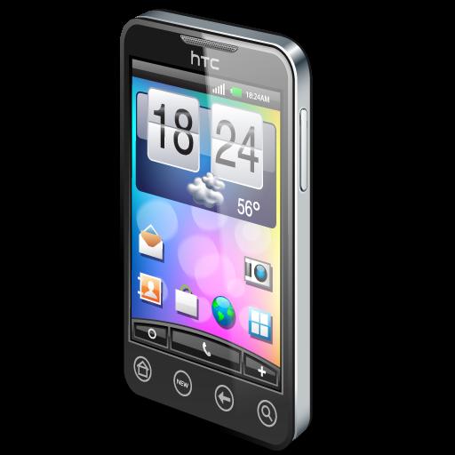 Mobile Phone Black Icon