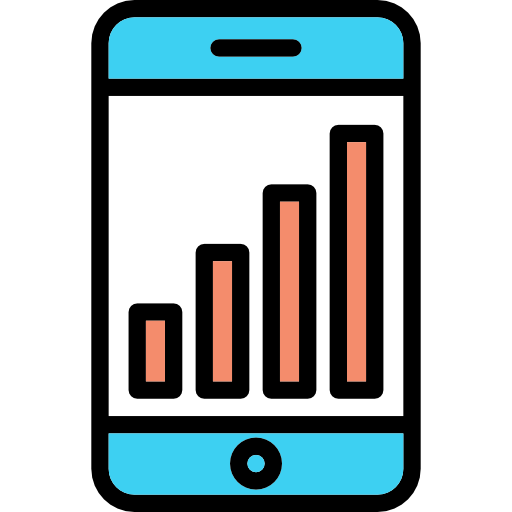 Technology Stats Icon
