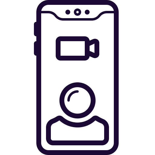 Camera, Facetime, Record, Skype, Video Icon Free Of Mobile