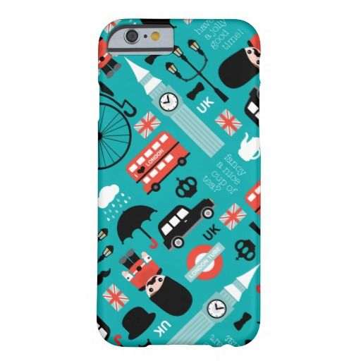London Travel Icon Retro Illustration Barely There Iphone Case