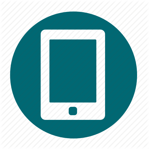 Business, Circle, Ipad, Mobile, Office, Phone Icon