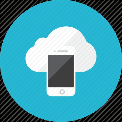 Cloud, Phone Icon