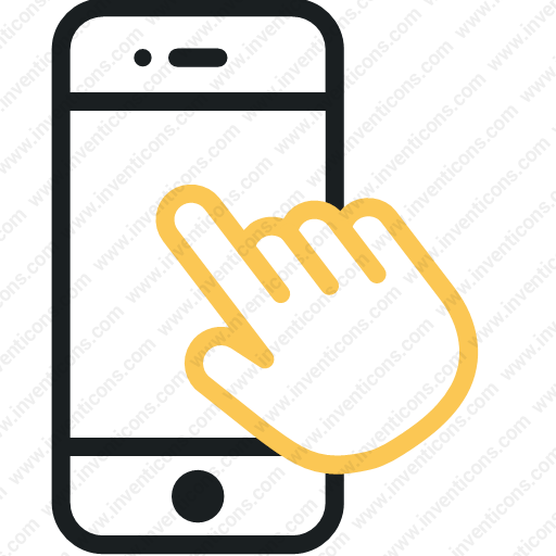 Download Finger,hand,mobile,phone,smartphone,telephone,touch Icon