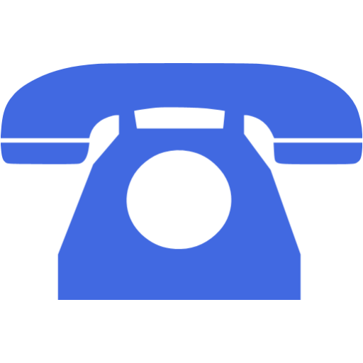 Royal Blue Phone Icon
