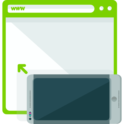 Browser, Devices, Mobile Phone Icon