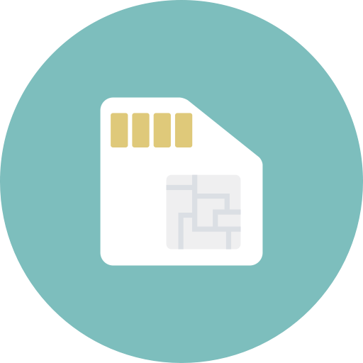 Card, Simcard, Phone Icon