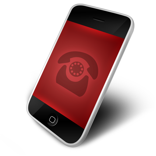 Network Communications Phone Icon