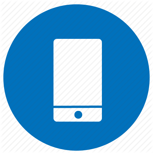 Phone Icon Blue Pictures And Cliparts, Download Free