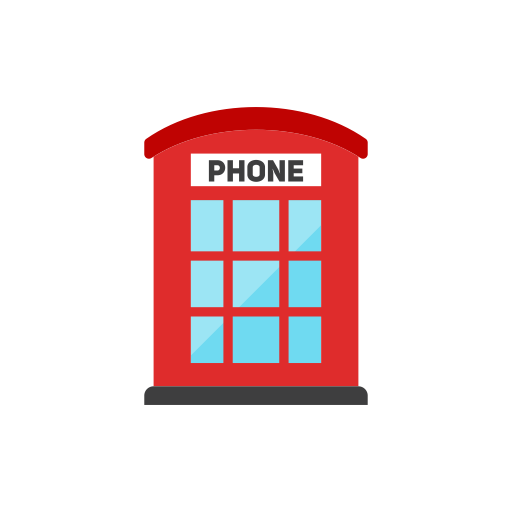 Phone, Booth Icon