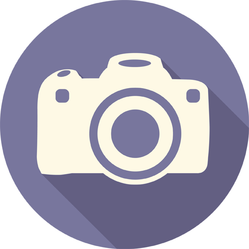 Camera Icon Long Shadow Media Iconset Pelfusion