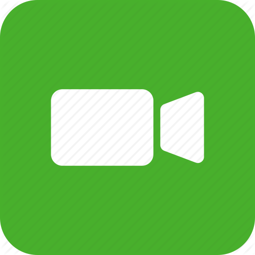Green, Movie, Square, Video, Video Camera Icon