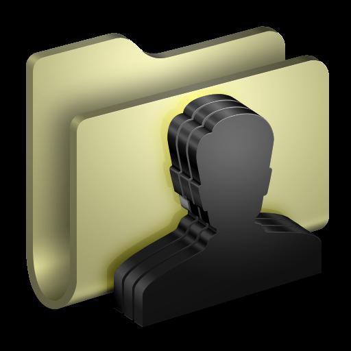 Group Folder Icon Alumin Folders Iconset Wil Nichols
