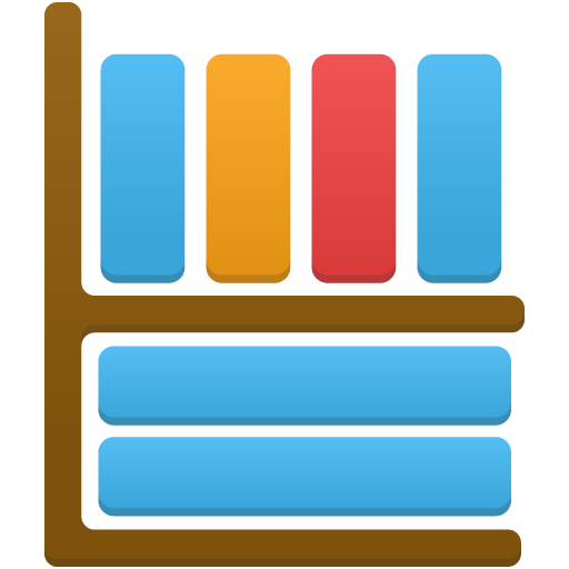 Library Icon Free Of Flatastic Icons