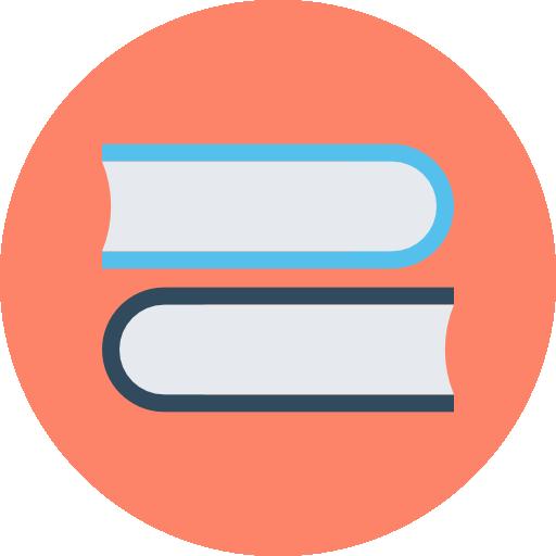 Library Icon Education Vectors Market