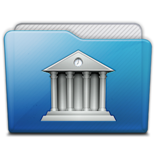 Folder Library Icon Free Search Download As Png