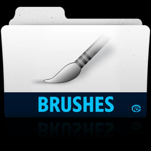 Brushes Folder Icon Adobe Folders Iconset Vladgohn
