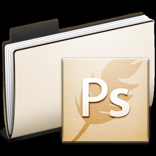 Photoshop, Ps, Folder Icon