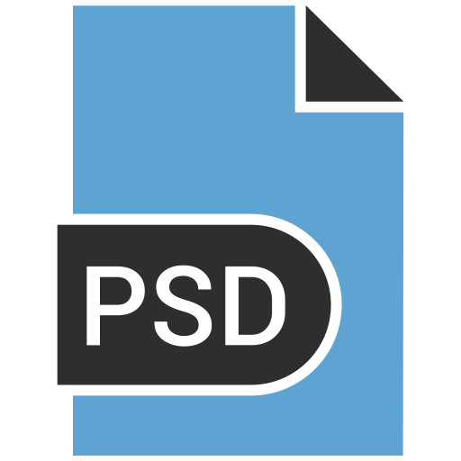 Photoshop File, Photoshop Extension Icon