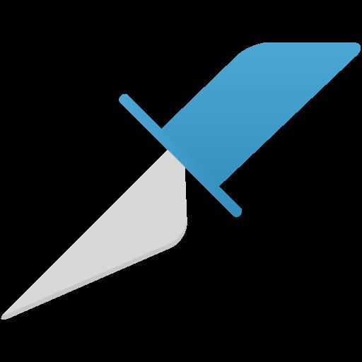 Slice Tool Icon Flatastic Iconset Custom Icon Design