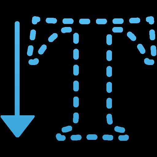 Vertical Type Mask Tool Icon Flatastic Iconset Custom Icon