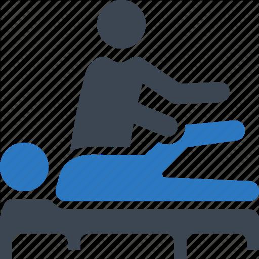 Massage, Physical Medicine, Physiotherapy, Rehabilitation Icon