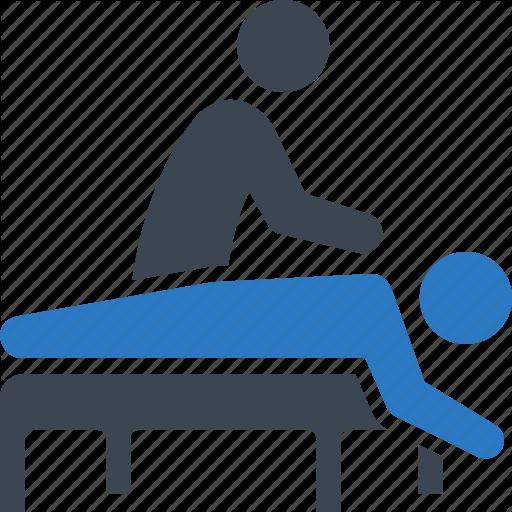 Massage, Physical Medicine, Rehabilitation Icon