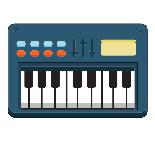 Piano, Electric, Musical, Instrument Icon Free Of Piano