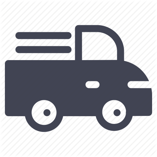 Delivery, Pick, Transport, Transportation, Truck, Up Icon