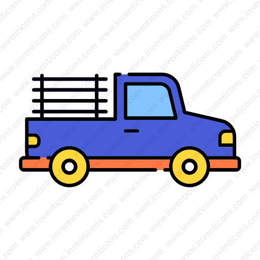 Download Transport,pickup,lineal,color Icon Inventicons