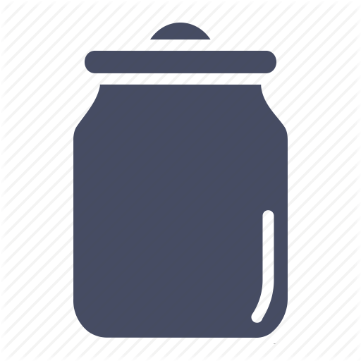 Can, Container, Jar, Kitchen, Pickle, Vessel Icon