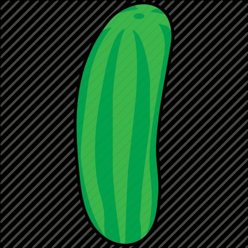 Cucumber, Pickle, Salad, Vegetable Icon