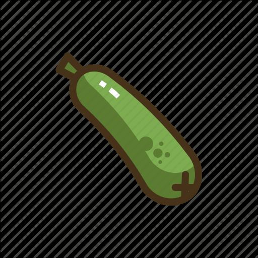 Cucumber, Pickle, Vegetable, Vegetables Icon