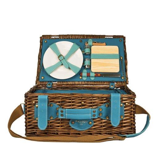 Leather Picnic Basket