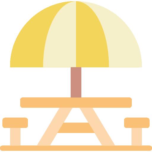 Picnic Table Icon Leisure Smashicons