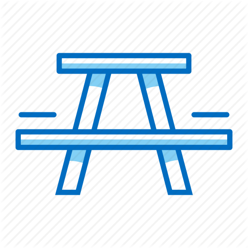 Camping, Outdoor, Picnic, Table Icon