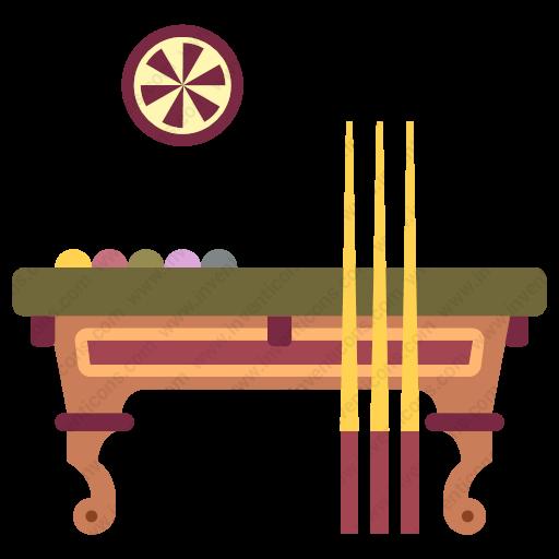 Download Billiard,table Icon Inventicons