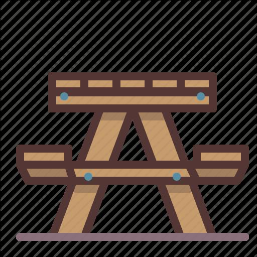 Picnic, Table Icon