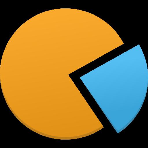 Pie Chart Icon Flatastic Iconset Custom Icon Design