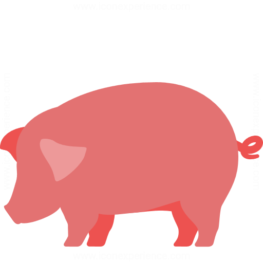 Iconexperience G Collection Pig Icon