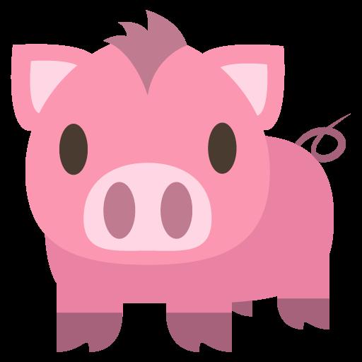 Pig Emoji Vector Icon Free Download Vector Logos Art Graphics
