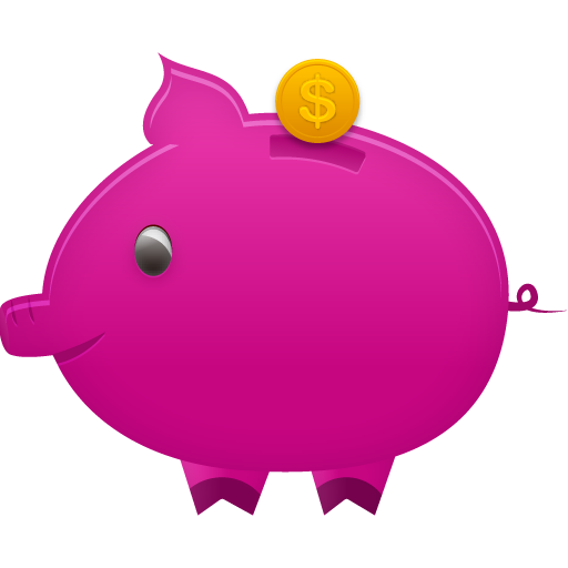 Piggy, Bank Icon Free Of Pretty Office Icons