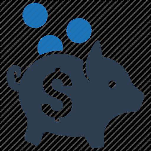 Bank, Coin, Deposit, Money, Piggy Bank, Piggybank, Savings Icon