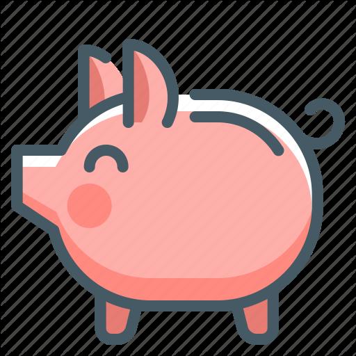 Bank, Money, Piggy, Piggy Bank, Save Icon