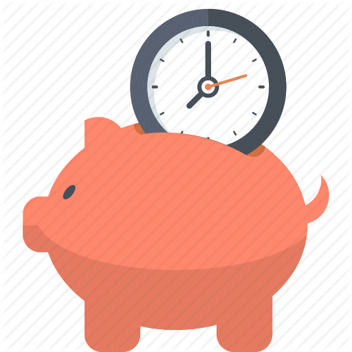Banking, Business, Finance, Guardar, Piggy Bank, Save, Time Icon