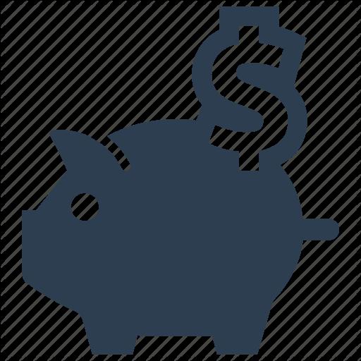 Deposit, Money, Piggy Bank, Saving, Savings Icon